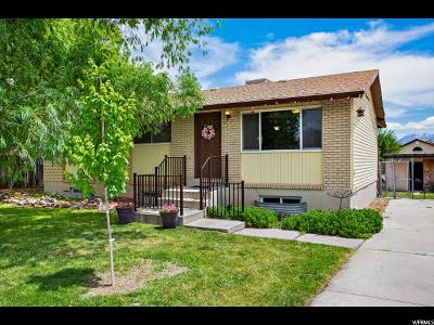 West Jordan Single Family Home For Sale: 6945 S 3420 W
