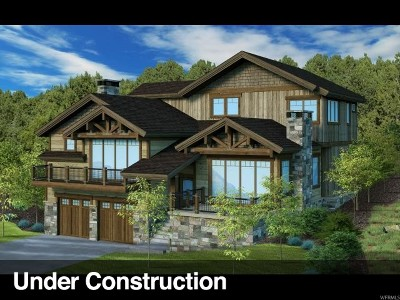 Wasatch County Single Family Home For Sale: 1881 E Kings Peak Cir (Lot Cp-40) #CP-40