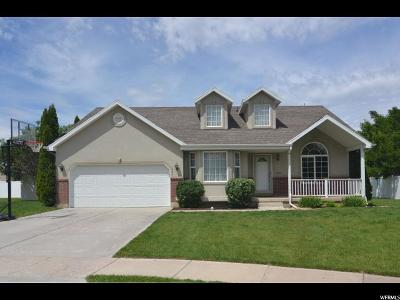 South Weber Single Family Home Under Contract: 7635 S 1950 E