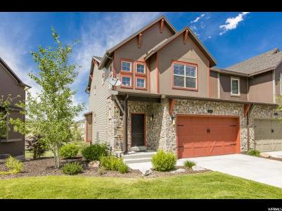 Wasatch County Townhouse For Sale: 924 W Abigail Dr #189
