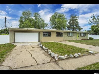 Davis County Single Family Home For Sale: 1346 W Laytona N