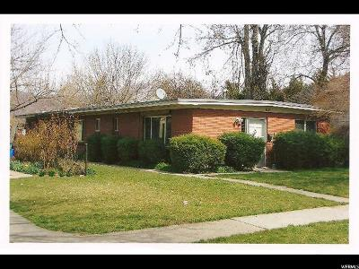 Salt Lake City Single Family Home For Sale: 1055 E Wilson Ave