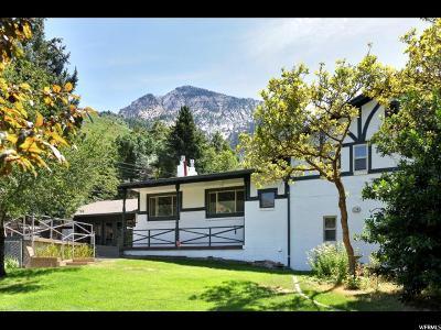 Salt Lake City Single Family Home For Sale: 4128 E Cumorah Dr S