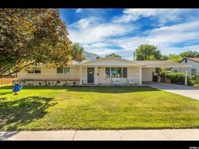 Springville Single Family Home Under Contract: 378 N 100 E