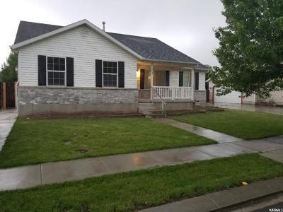 Eagle Mountain Single Family Home For Sale: 1853 E Sunrise Dr