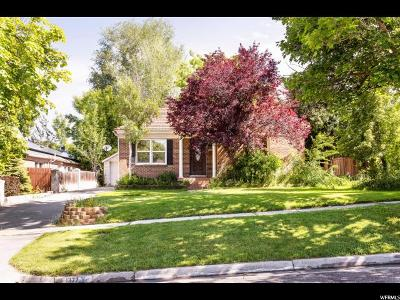 Salt Lake City Single Family Home For Sale: 1377 E Zenith Ave