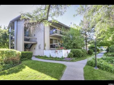Salt Lake City Condo For Sale: 5761 S Waterbury Cir E #L