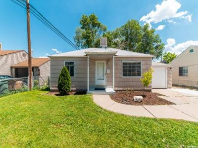 Salt Lake City Single Family Home For Sale: 1319 S Glendale Dr W