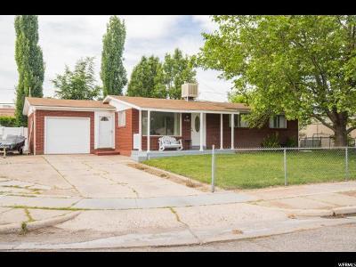 Davis County Single Family Home For Sale: 640 W 1875 N