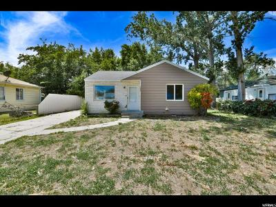 Salt Lake City Single Family Home For Sale: 1042 S 1500 St W