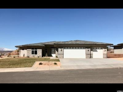 St. George Single Family Home For Sale: 1617 E Talus Way