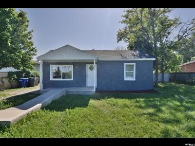 Salt Lake City Single Family Home For Sale: 954 N Colorado St W