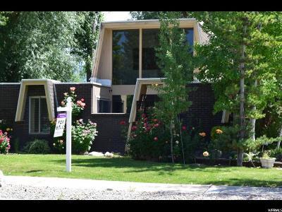 Salt Lake City Single Family Home Backup: 1378 E 5440 S