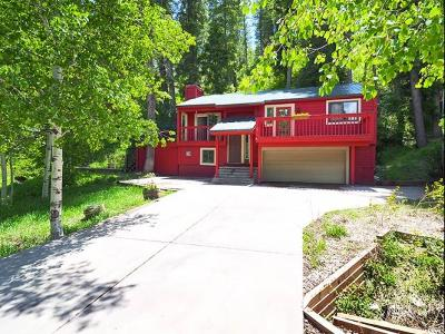 Park City Single Family Home For Sale: 120 Woodland Pl