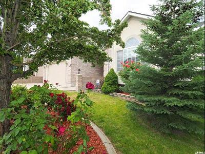 Salt Lake City Single Family Home For Sale: 4766 S Redtail Hawk Bay
