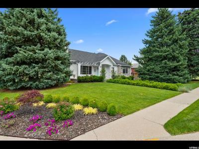 Salt Lake City Single Family Home For Sale: 2517 E Hillside Cir
