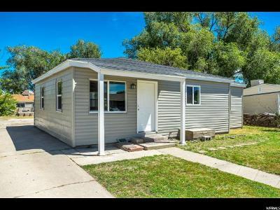 Salt Lake City Single Family Home For Sale: 4278 W 5655 S