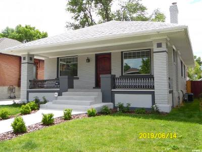 Sugar House Single Family Home For Sale: 830 E Coatsville Ave