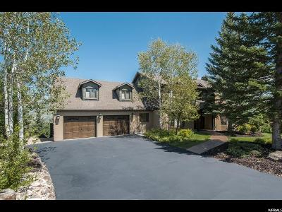 Park City Single Family Home For Sale: 3778 Blacksmith Rd