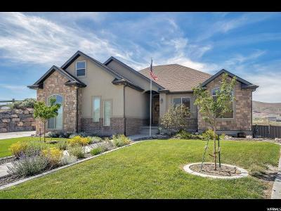 Eagle Mountain Single Family Home For Sale: 4037 E Clubhouse Ln N