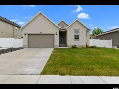 Stansbury Park Single Family Home For Sale: 6851 Decker Dr