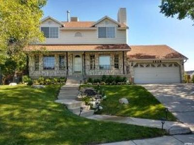 West Jordan Single Family Home For Sale: 1416 W 6720 S