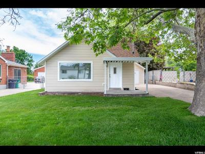 Davis County Single Family Home For Sale: 87 E 100 N
