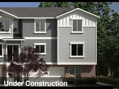 Riverton Townhouse Under Contract: 4218 W Silver Canyon Ct #234