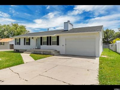 Riverton Single Family Home Under Contract: 2031 W 12974 S