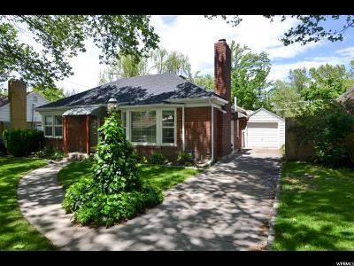 Salt Lake City Single Family Home For Sale: 1463 E 3045 S