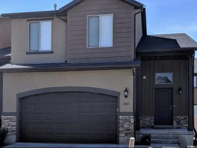 Lehi Townhouse For Sale: 2607 W Maple Dr