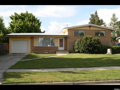 Logan Single Family Home Under Contract: 245 W 500 S