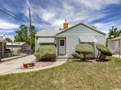 Salt Lake City Single Family Home For Sale: 1160 W Fremont Ave S