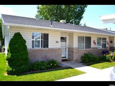 Weber County Condo For Sale: 1501 S Monroe Blvd E #90