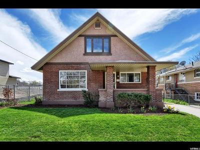 Weber County Single Family Home For Sale: 525 E 21 St S