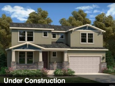 West Jordan Single Family Home Under Contract: 6867 W 8045 S