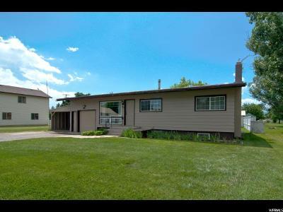 Preston Single Family Home For Sale: 25 N 400 W