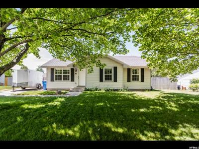 Franklin Single Family Home Under Contract: 36 S 1250 E