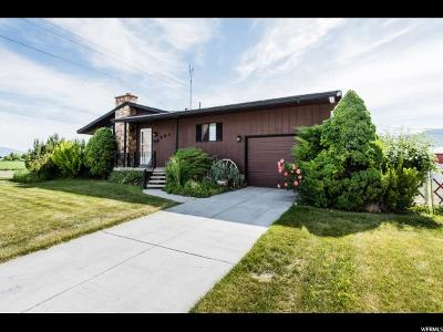 Tremonton Single Family Home For Sale: 990 N Tremont St