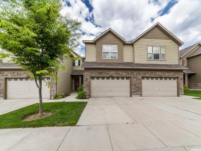 Riverton Townhouse For Sale: 13494 S Leaf Wing Ln