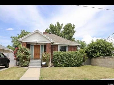 Midvale Single Family Home For Sale: 636 W 1st Avenue
