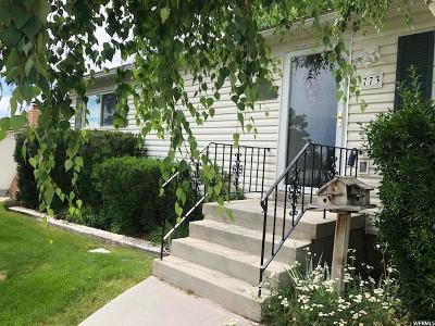 Brigham City Single Family Home Under Contract: 773 E 675 S