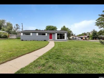 Cottonwood Heights Single Family Home Under Contract: 6770 S Greenfield Way E