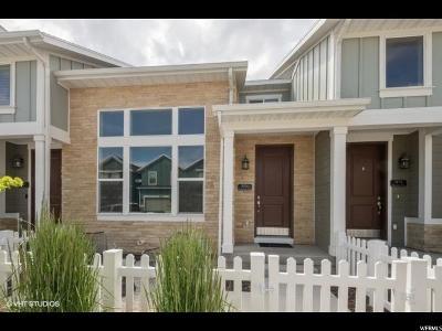 Herriman Townhouse For Sale: 5154 W Stockfield Ln S