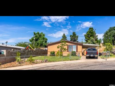 St. George Single Family Home For Sale: 113 N 2710 E