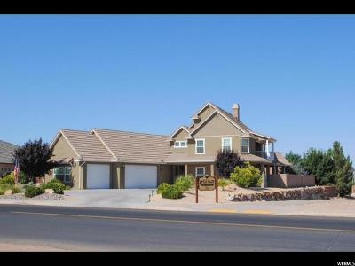 St. George Single Family Home For Sale: 2624 S Little Valley Rd
