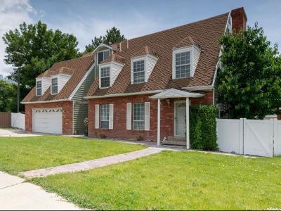 Orem Single Family Home For Sale: 274 E 1600 N