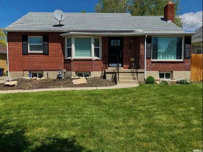 Salt Lake City Single Family Home For Sale: 1653 E 2100 S