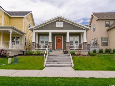 South Jordan Single Family Home For Sale: 10218 S Petaluma Way