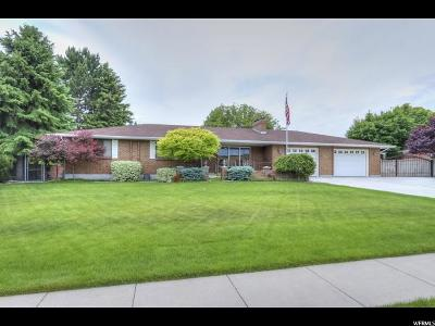 West Jordan Single Family Home Backup: 2243 W Williamsburg S